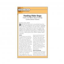 Feeding Older Dogs e-Booklet