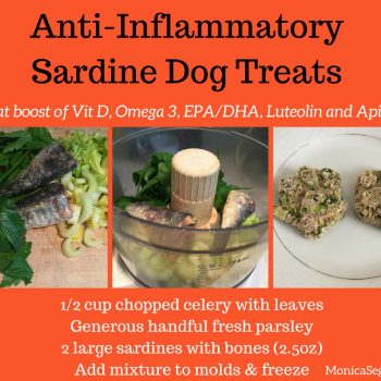 Anti-inflammatory Sardine Dog Treats